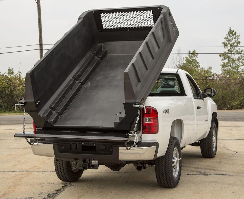 Polymer Insert Turns Pickup Into Dump Truck Medium Duty