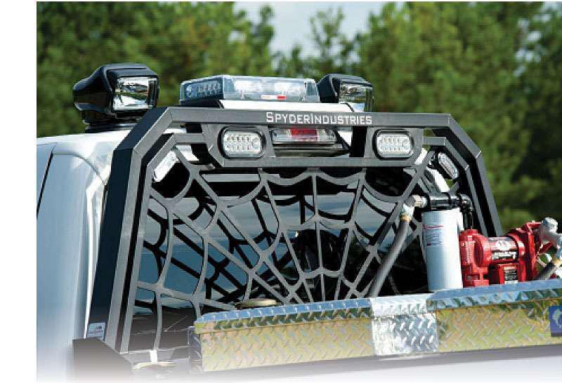 Red Hot Headache Racks | Medium Duty Work Truck Info