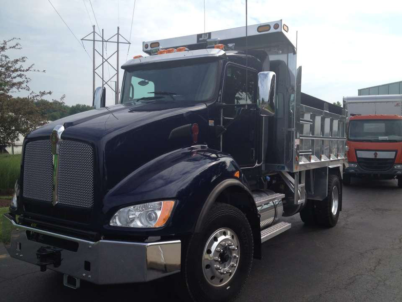 Test Drive Kenworth T440 Dump Truck Medium Duty Work