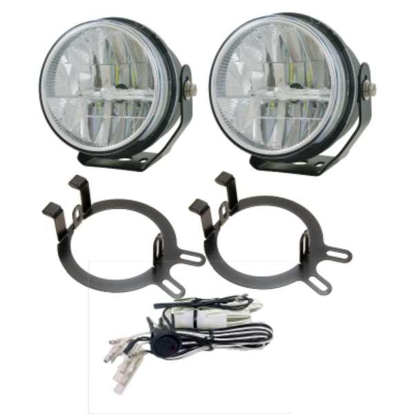 replacement for oem led driving fog lights medium duty work truck info rh hardworkingtrucks com Universal Wiring Harness Off-Road Light Wiring Harness