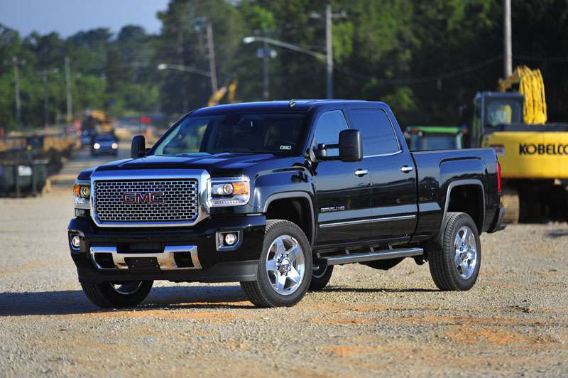 road test 2015 gmc sierra 2500hd denali 4 4 cc medium duty work truck info. Black Bedroom Furniture Sets. Home Design Ideas