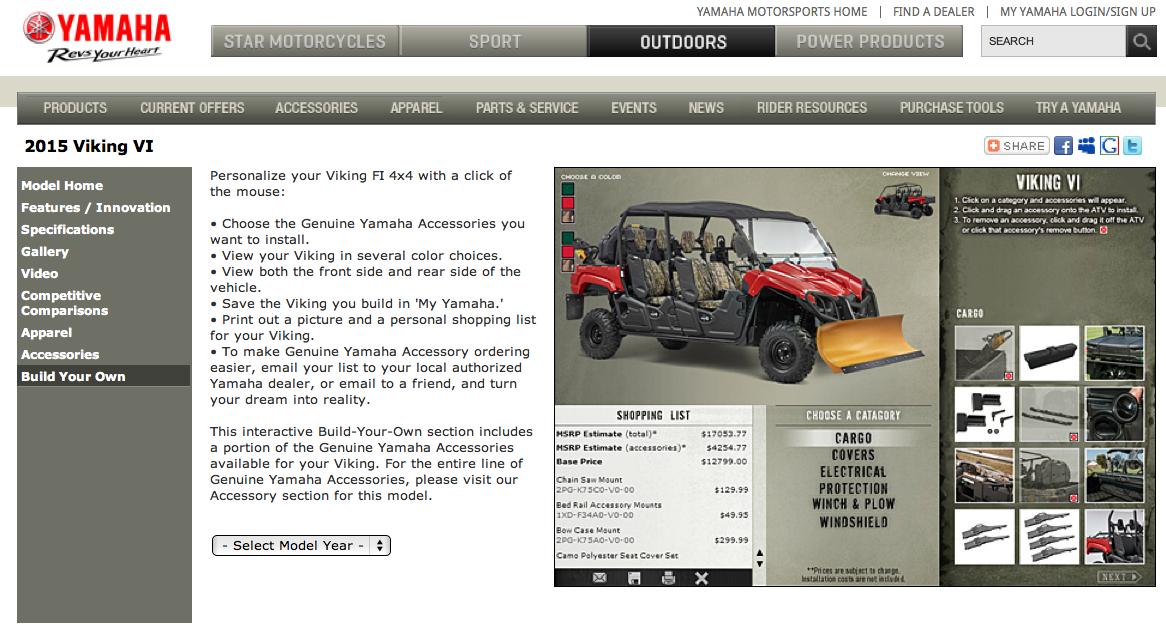 Yamaha Viking VI Has Build-Your-Own Website | Medium Duty