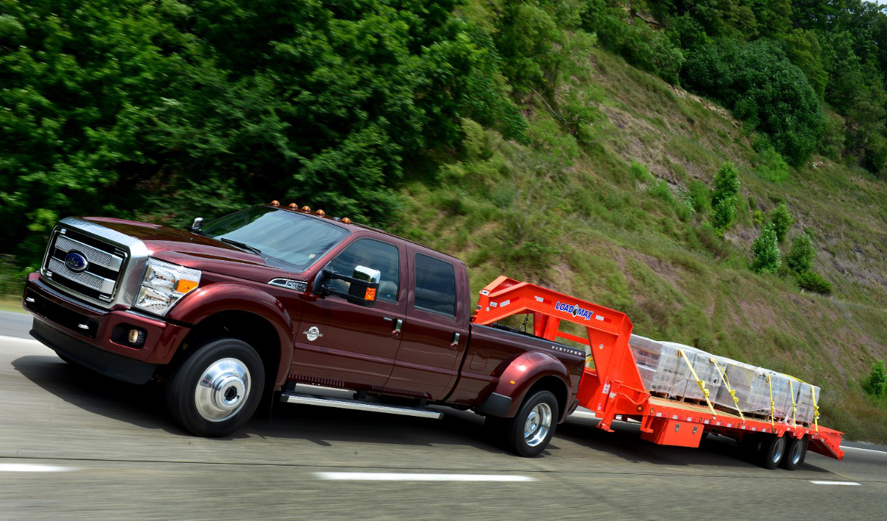 F 450 Gets Best In Class Towing Nod Using Sae J2807 Standard