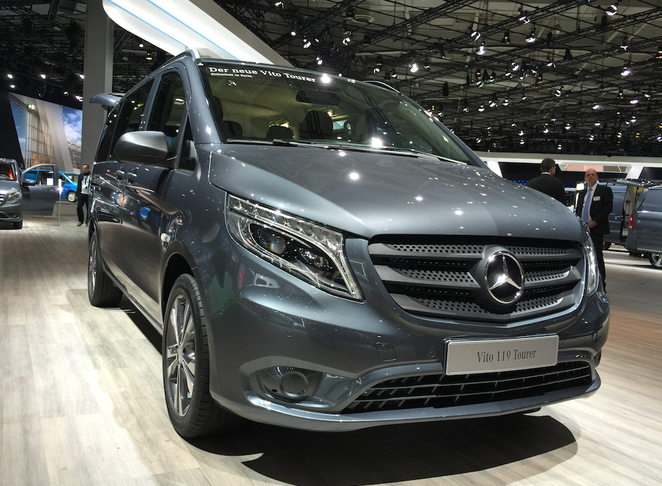 Mercedes-Benz will introduce new mid-size work van ...