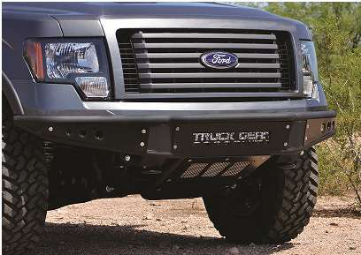 Line,X coated bumpers and steps expand pickup offerings