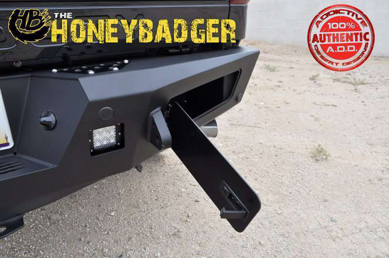 Honey Badger Heavy Duty Rear Bumpers | Medium Duty Work