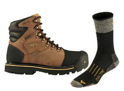 The Perfect Pair To Keep Outdoor Worker S Feet Warm