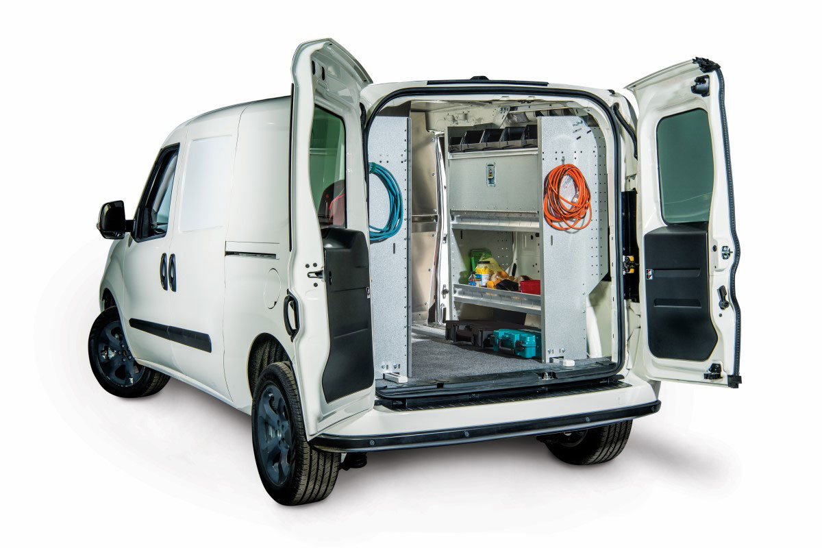 Storage Equipment Available For Promaster City Van