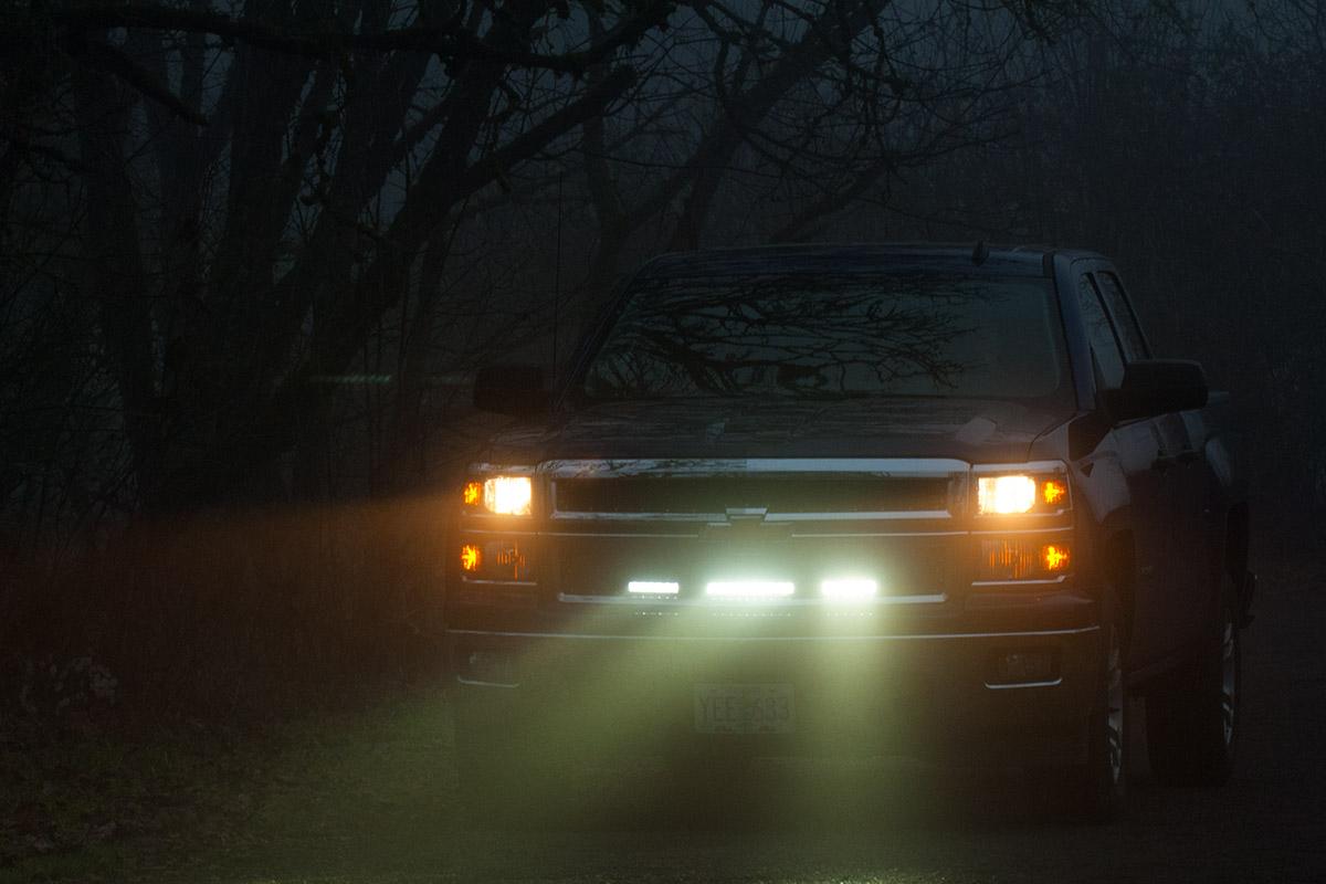 LED Grille Install: 2014-Up Chevy Silverado | Medium Duty Work Truck ...
