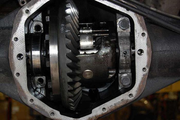 G80 axle gear houwing