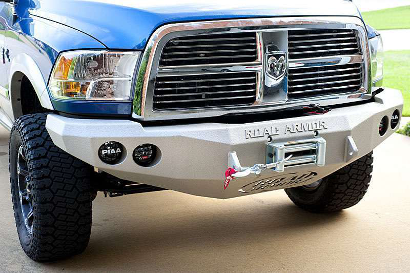 Ram 2500hd heavy duty winch bumper install medium duty work truck info road armor ram bumper front publicscrutiny Images