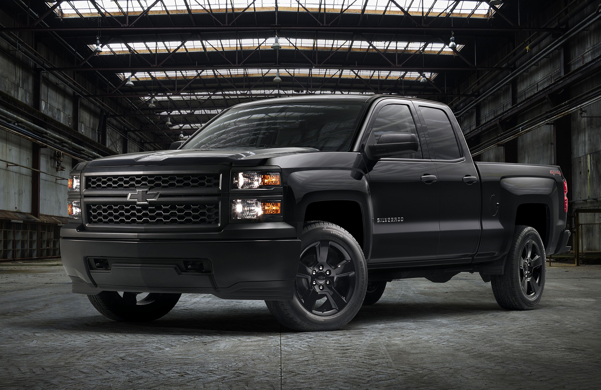 Chevy Silverado Work Trucks Get Black-Out Package | Medium ...