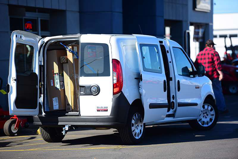Road Test 2015 Ram Promaster City Cargo Van Medium Duty