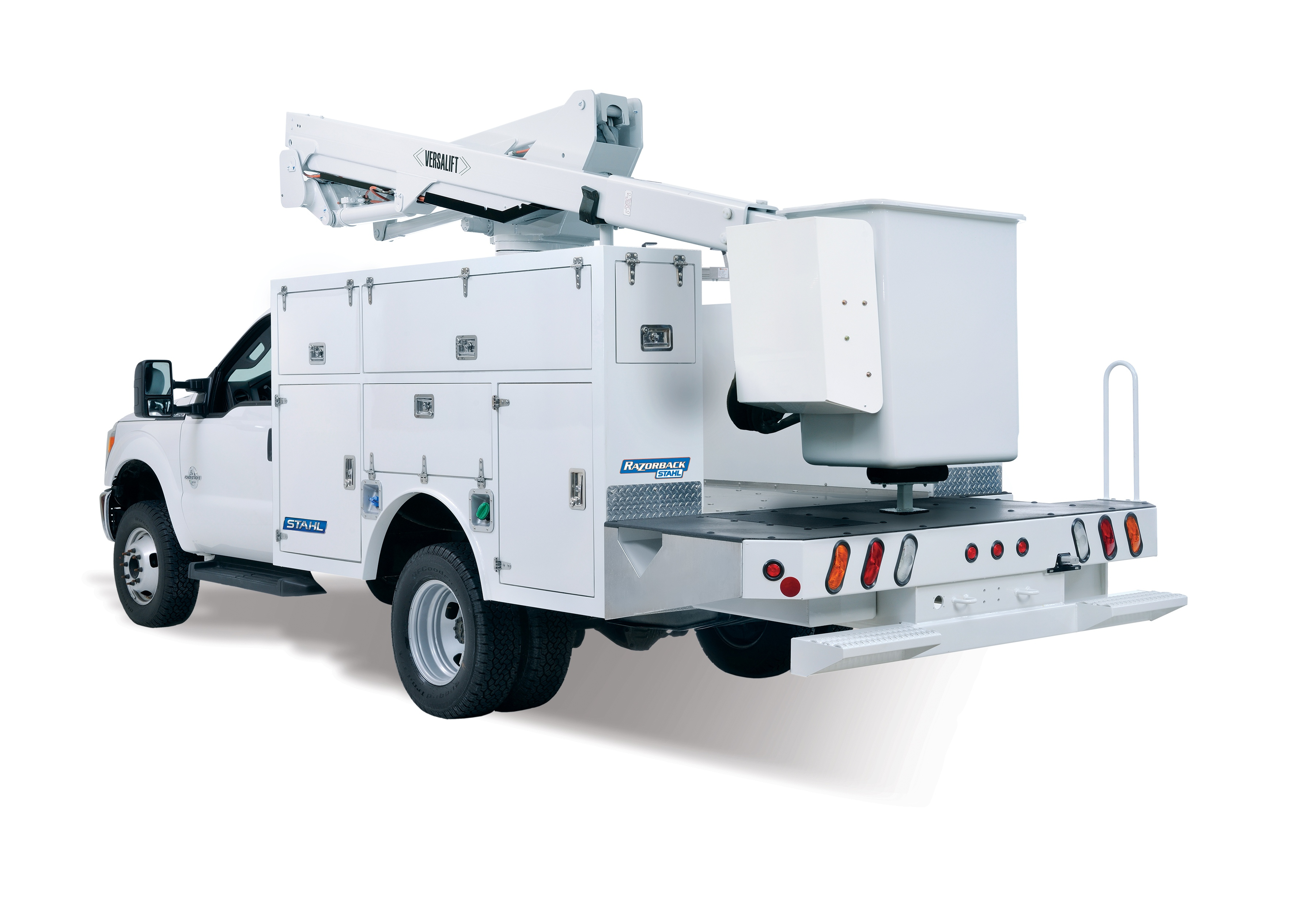 Stahl launches first polymer service body | Medium Duty Work Truck Info
