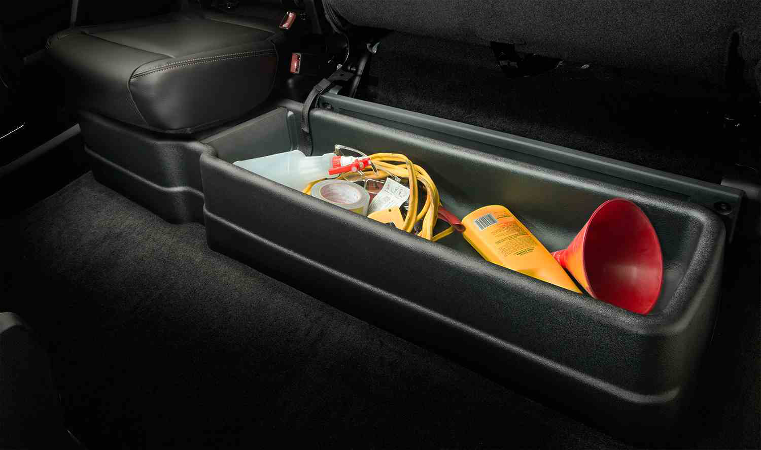 F150 Under Seat Storage >> F-150 SuperCrew Underseat Storage System | Medium Duty Work Truck Info