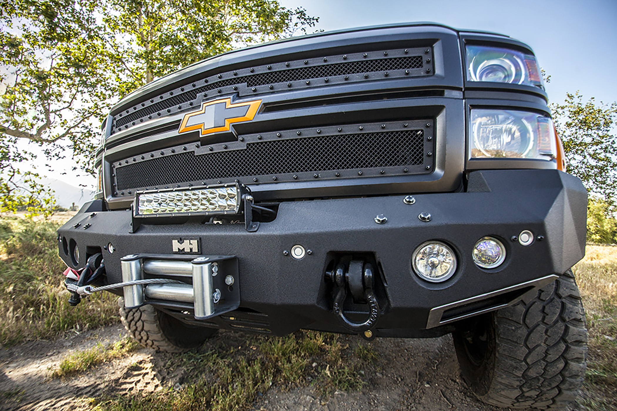 Silverado M 1 Winch Bumpers Medium Duty Work Truck Info