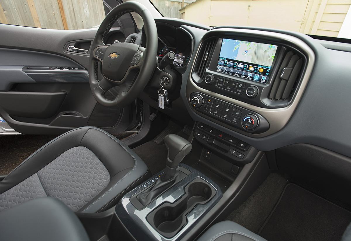 Tested: 2015 Chevrolet Colorado Z71 4×4 Crew Cab | Medium ...