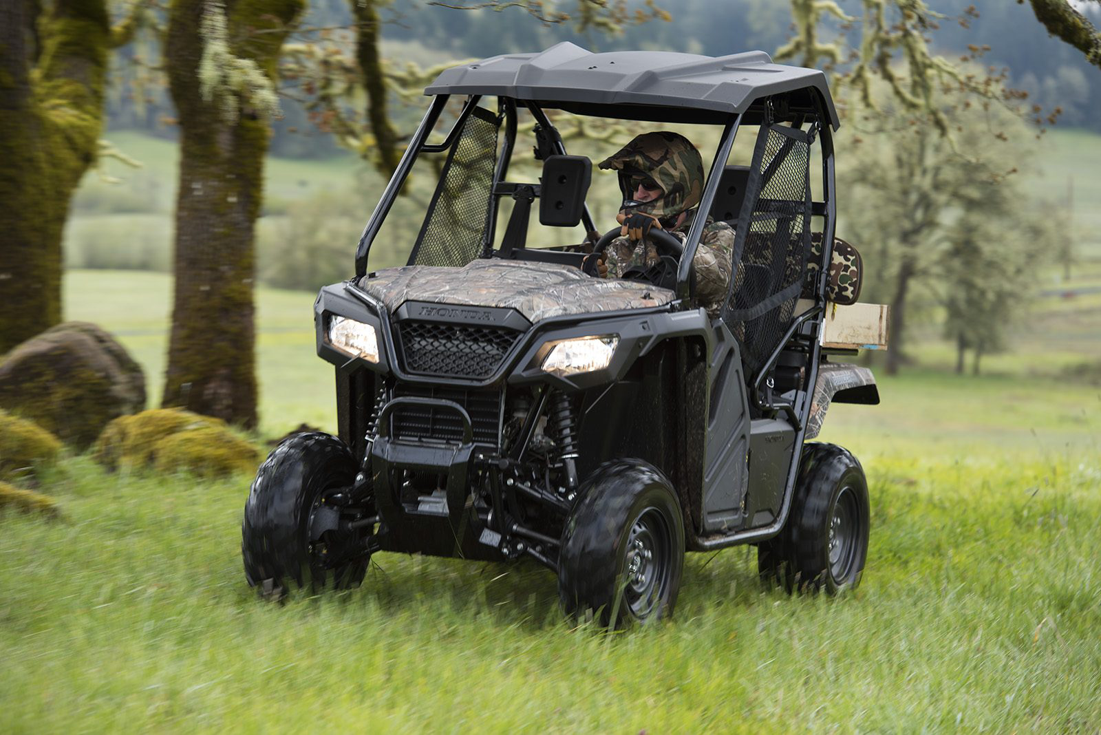 2015 Honda Pioneer 500 Side By Side Test Medium Duty