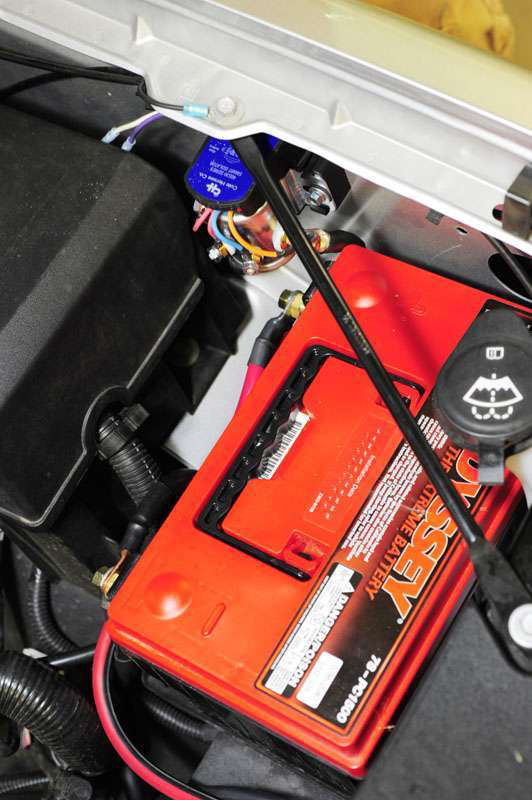GMC 1500 Dual battery installed
