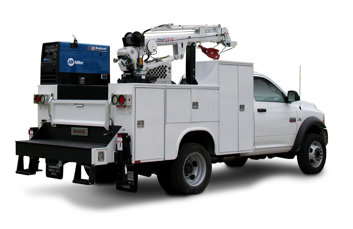 Service Bodies For Pickups : Service bodies what s new for medium duty work