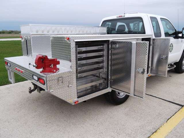 Utility Truck Bumpers : Service bodies what s new for medium duty work