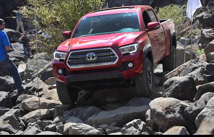 2016 Toyota Tacoma Rocks