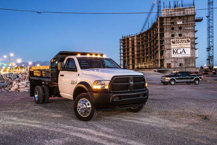 2016 Ram 3500  4500  5500 Chassis Cab