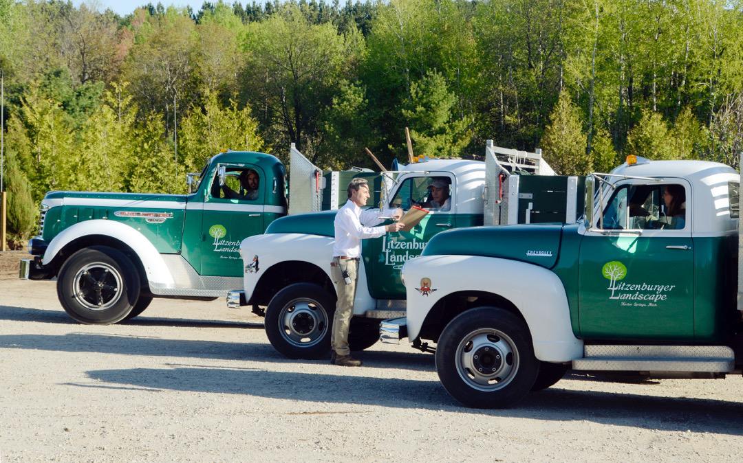 Vintage fleet still hard at work | Medium Duty Work Truck Info