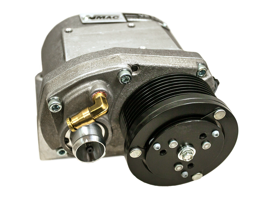 Vmac introduces air compressor system for ford transit for Motor driven air compressor