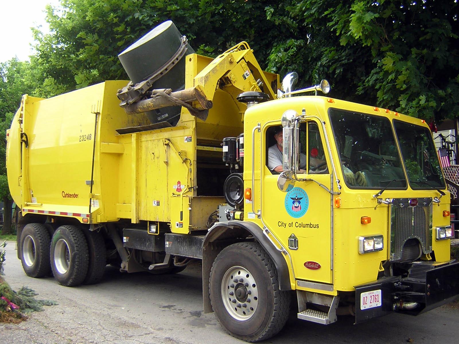 Car Rental Columbus >> Dangerous trash trucks still on the road   Medium Duty Work Truck Info