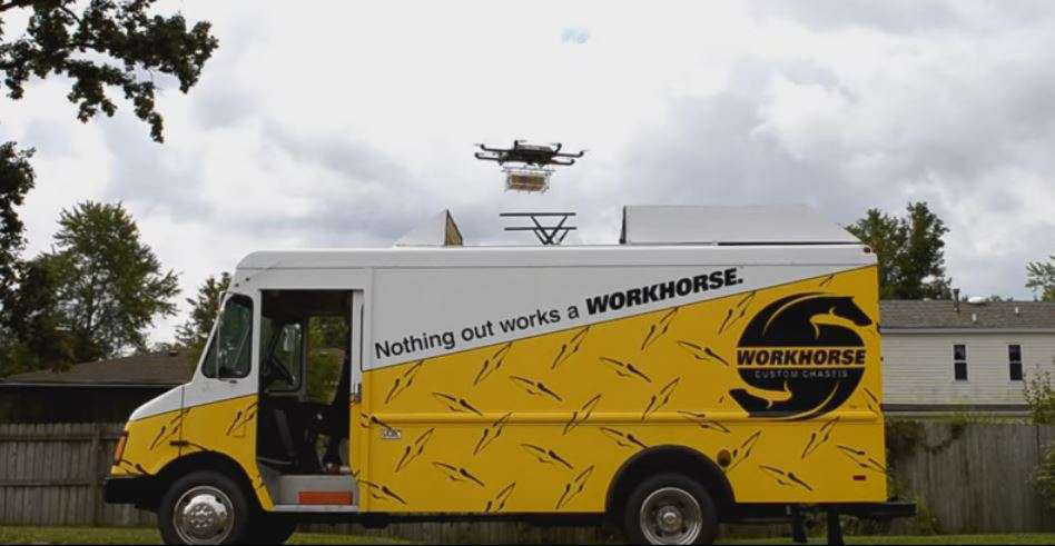 Truck-based delivery drone granted FAA exemption | Medium Duty Work