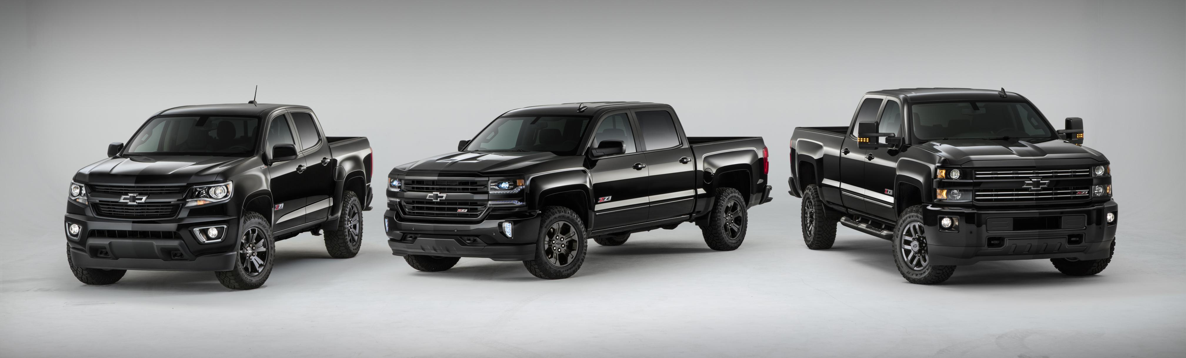 Chevy rolls out Midnight Special Edition across pickup line