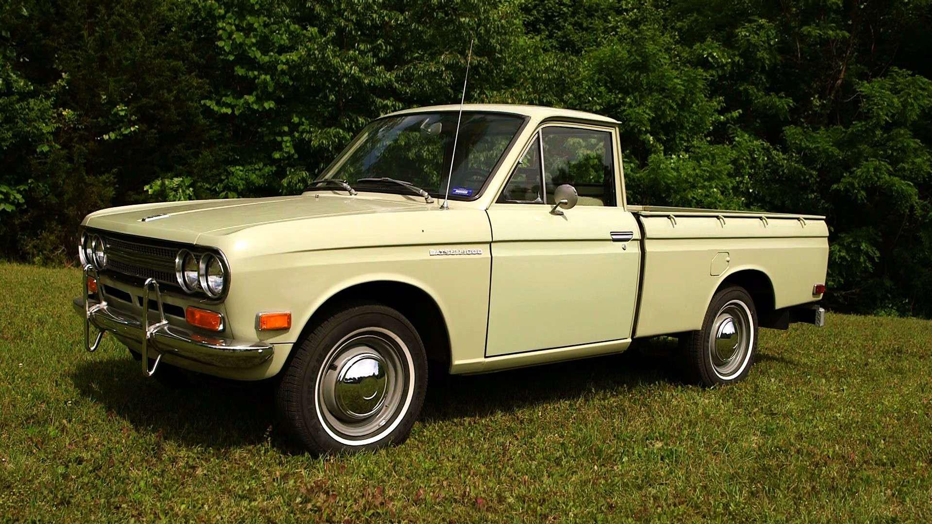 Nissan Dealership Nashville >> Tennessee man reunited with iconic Datsun pickup | Medium ...