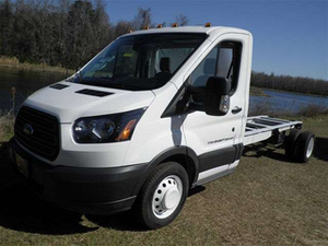Bozard Ford in St. Augustine, Fla. linked up their website to Work Truck Solutions online database so that their 2015 Ford Transit 350 HD cutaway and other work trucks and vans are more accessible to additional buyers.
