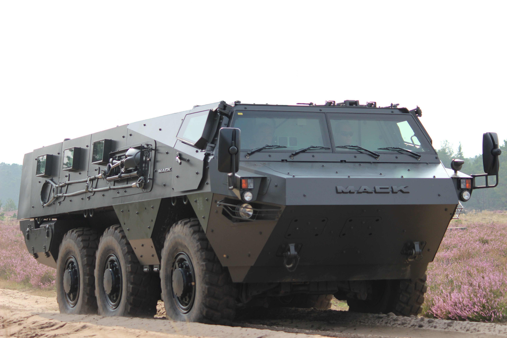 Military roots: Mack to help build 6x6