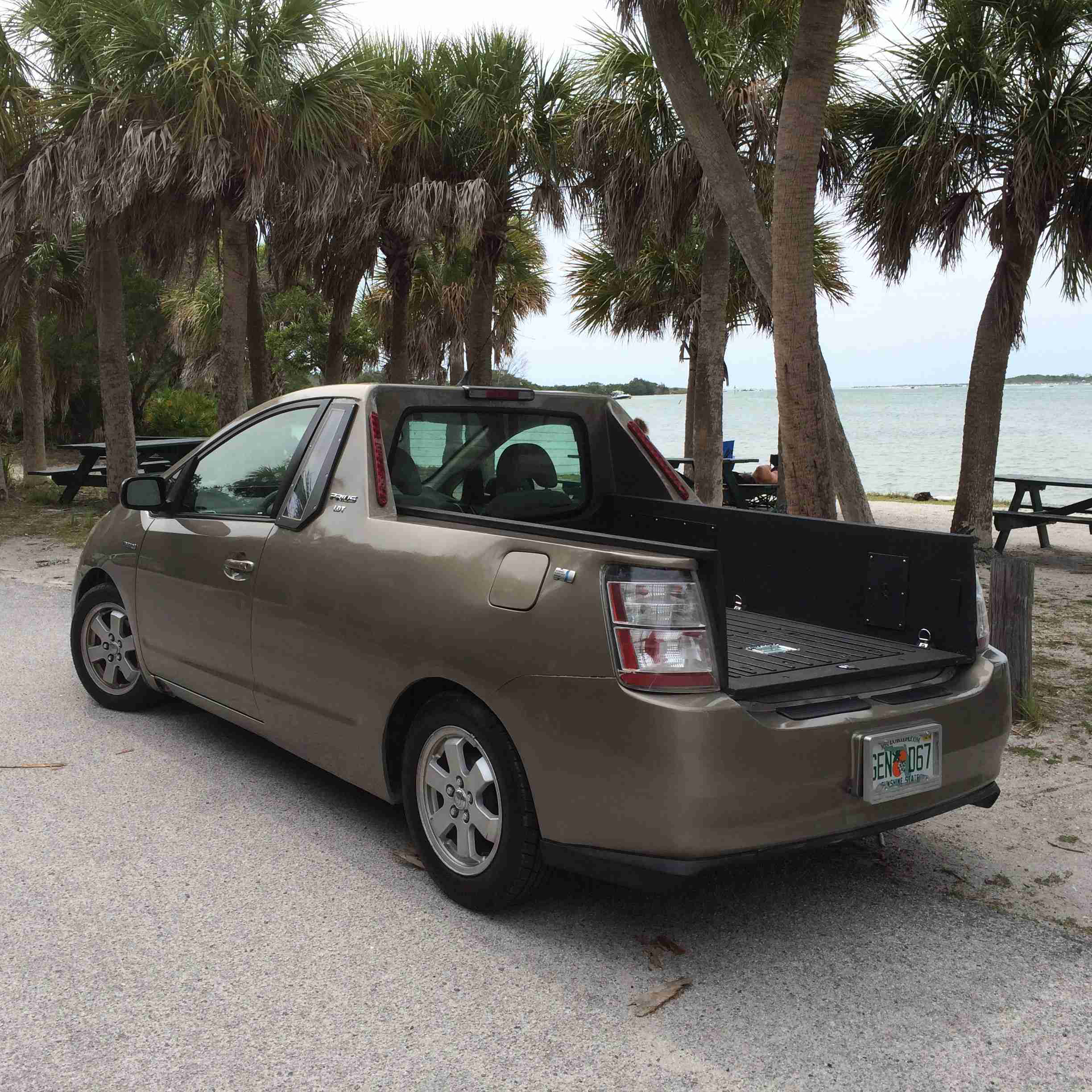 Florida Engineer Creates Prius Truck Medium Duty Work Truck Info