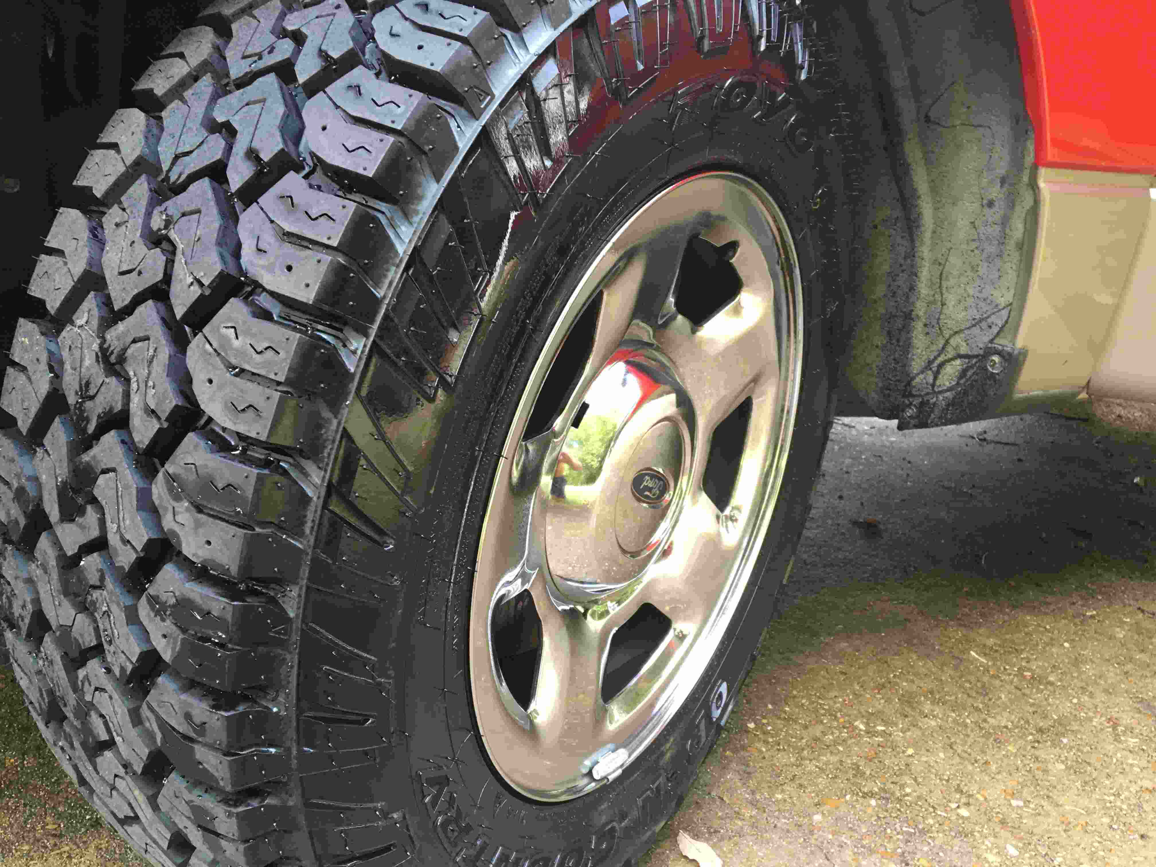 Tire test Toyo Open Country C T