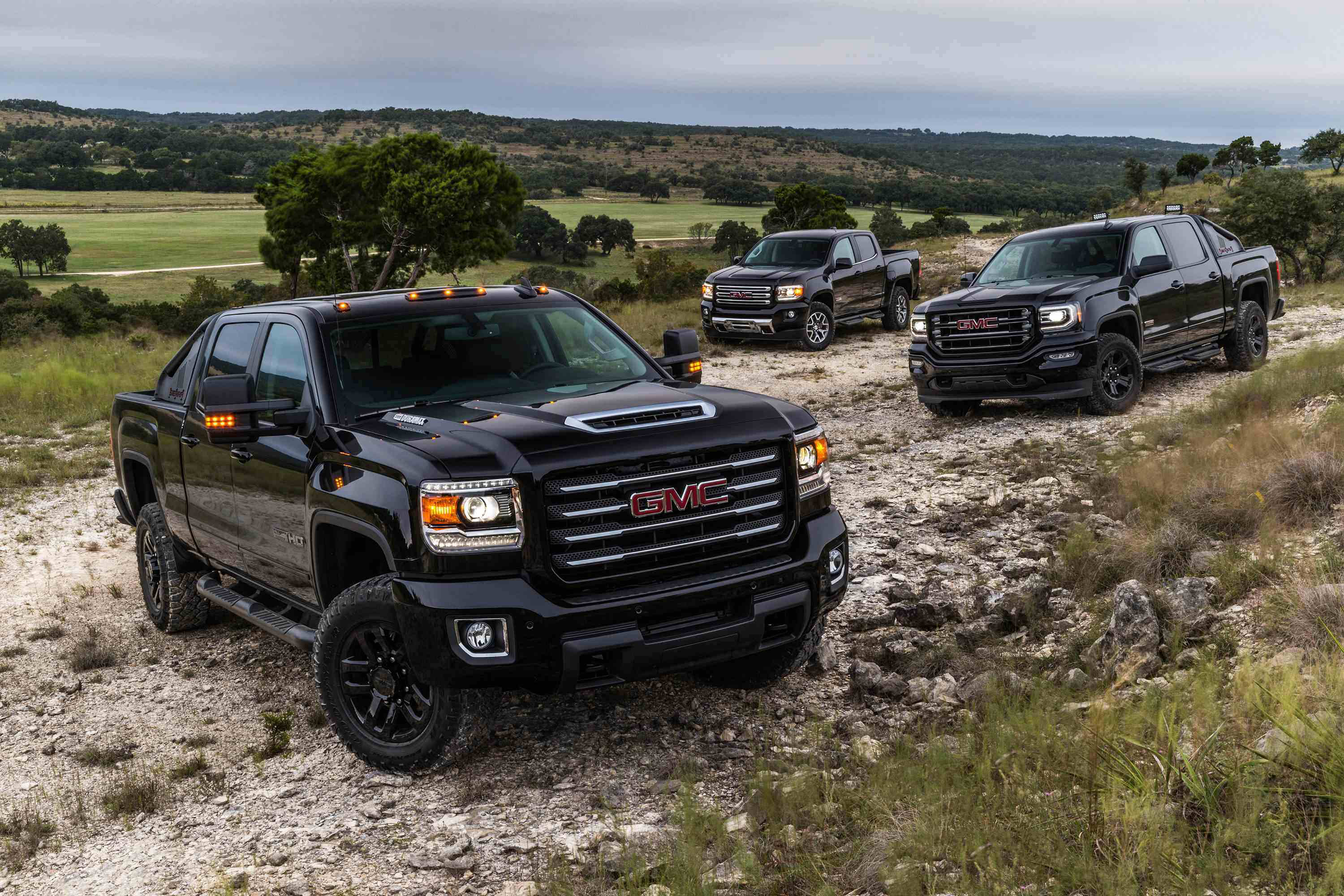 Gmc Unveils 2017 Sierra Hd All Terrain X Medium Duty