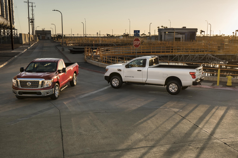 2017 Nissan Titan Single Cab Line Up Starts Below 30k Medium Duty