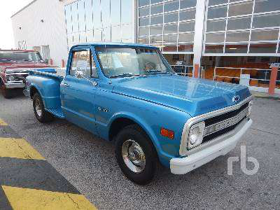1970 Chevy Pickup >> Restored 1970 Chevy C10 Among Last Items Friday At Ritchie