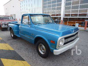 Restored 1970 Chevy C10 among last items Friday at Ritchie Bros Orlando auction