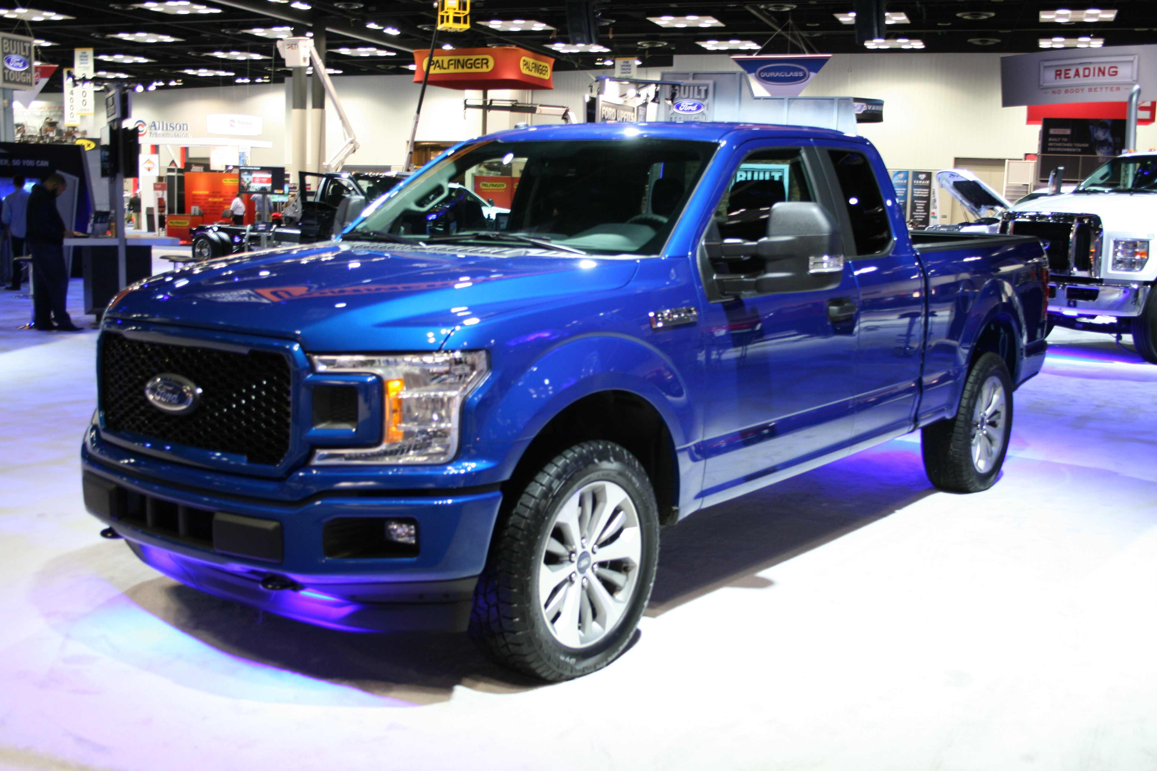 Gallery 2018 Ford F 150 On Display At The Work Truck Show Medium