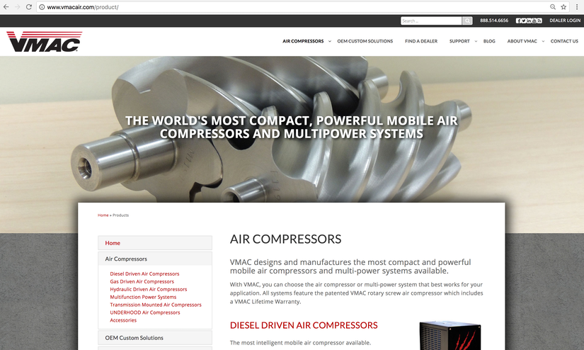 VMACAir launched a new website