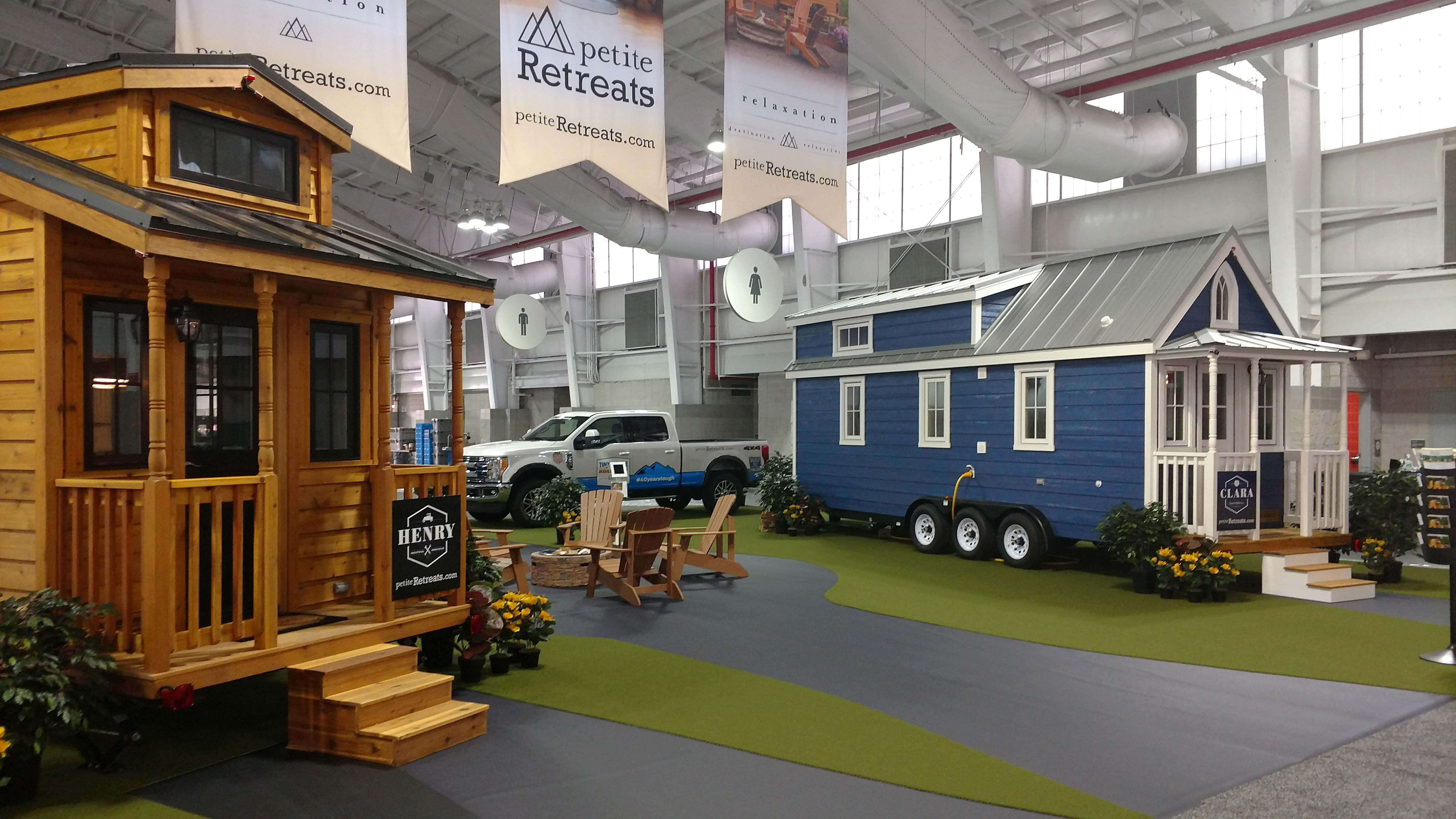 easy tiny homes. Ford reports that towing the tiny houses will be easy thanks to features  like Trailer Reverse Guidance and an exclusive 360 degree camera system with across U S this summer Medium Duty