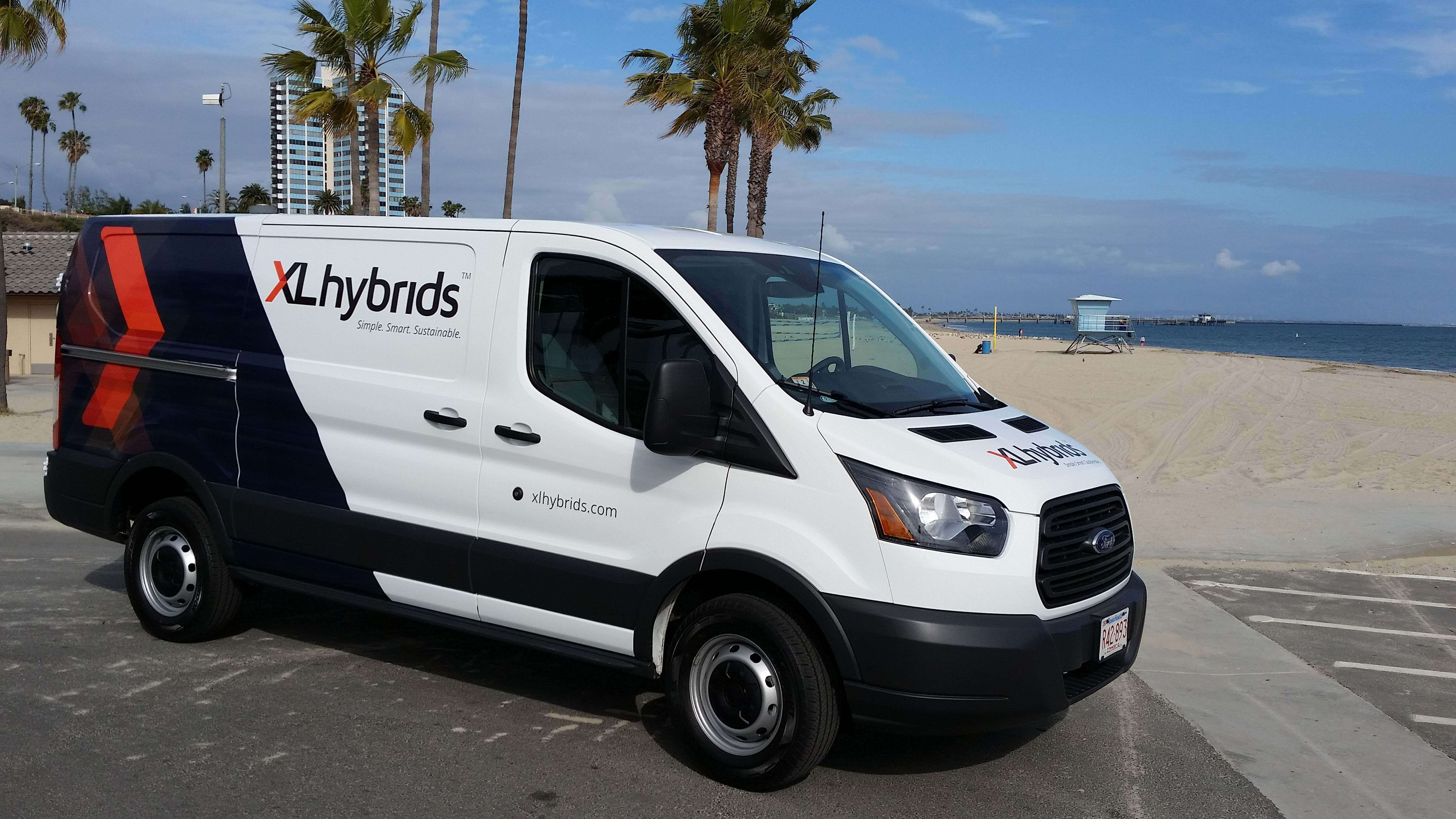 Xl Hybrids Gets California S First Executive Order For Ford Transit Hybrid Conversions Medium Duty Work Truck Info