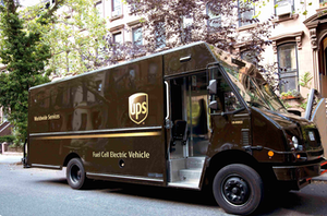 UPS will soon deploy the nation's first Class 6 hydrogen fuel cell delivery vehicle.