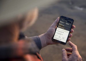 Customers can use Uber's freight app to access their new freight delivery service.