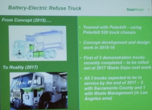 TransPower slide from ACT Expo last month in Long Beach, Calif.