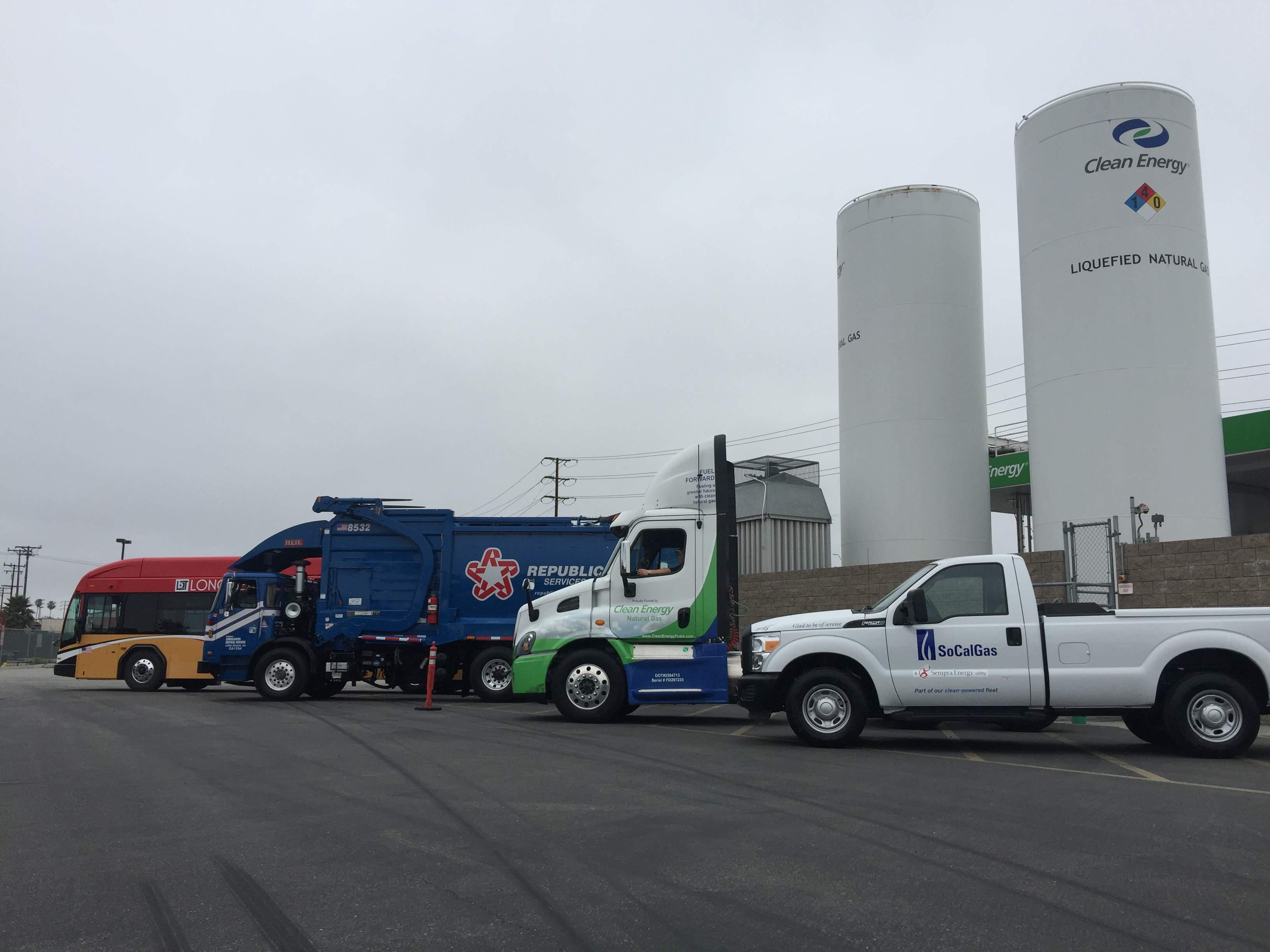 Natural Gas Road Rally Targets Diesel