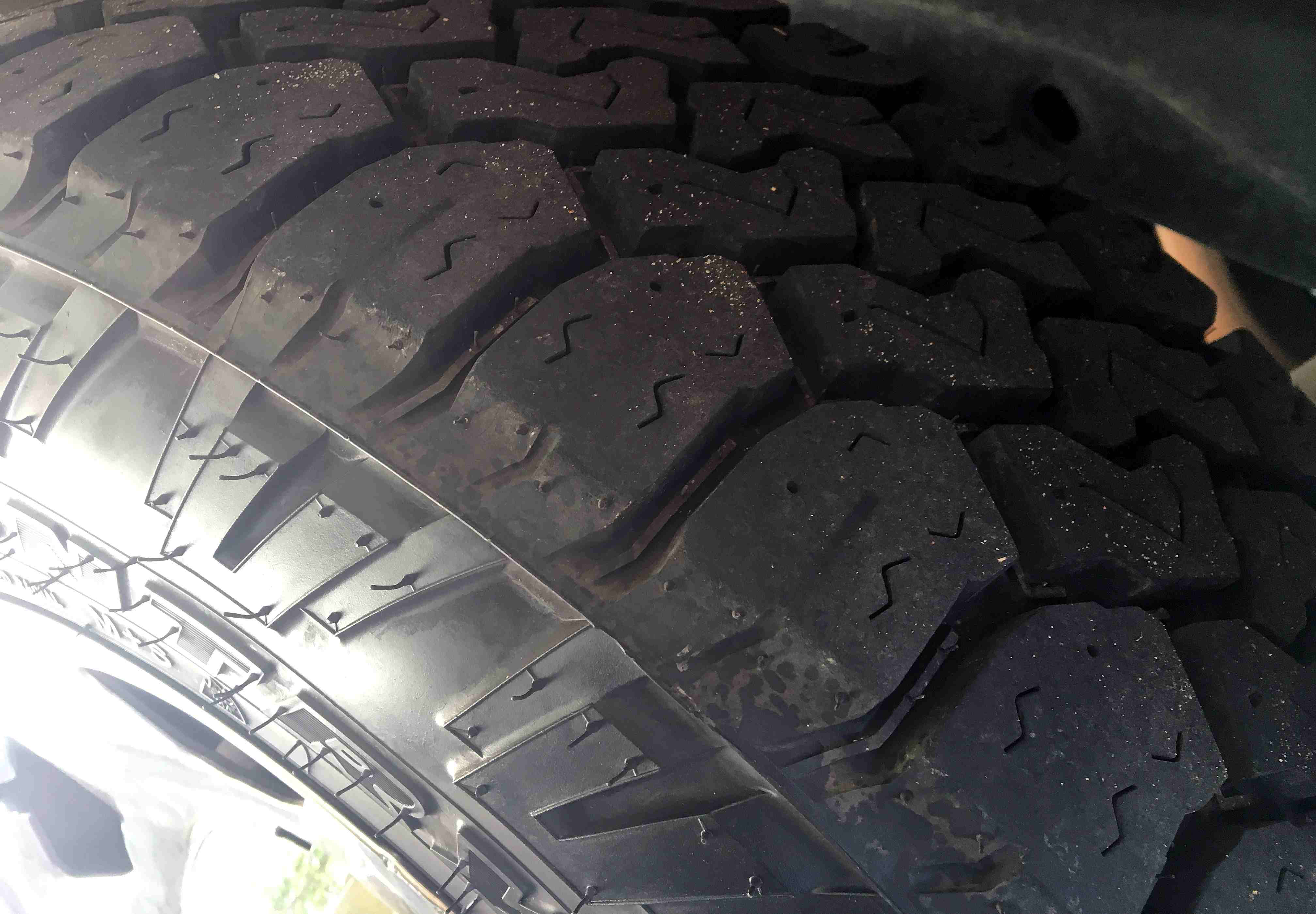 Tire test update Toyo Open Country C T